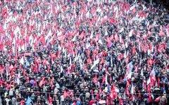 Акция протеста в Кишиневе. Стоп-кадр с видео в YouTube