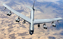 Boeing B-52. Фото Master Sgt. Lance Cheung с сайта barksdale.af.mil