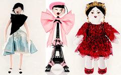 Куклы от Christian Dior, Chantal Thomass и Dolce&Gabbana. Фото с официальных сай