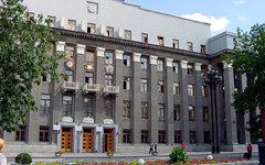 Здание парламента Северной Осетии. Фото Radion Hohti с сайта panoramio.com