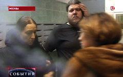 Нападение на журналистов «ТВ Центр». Кадр телеканала ТВЦ