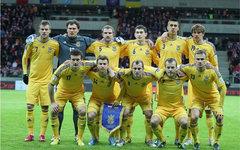 Игроки сборной Украины. Фото с сайта ffu.org.ua