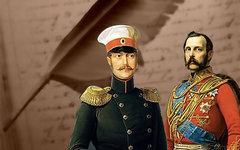 Александр I и Николай II. Коллаж © KM.RU
