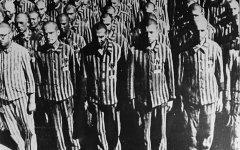Узники Бухенвальда. Фото с сайта wikipedia.org