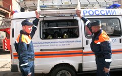Спасатели МЧС © KM.RU