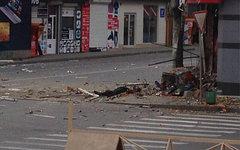 Место происшествия. Фото пользователя Твиттера @kastalab