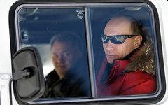 Сергей Шойгу и Владимир Путин. Фото с сайта kremlin.ru
