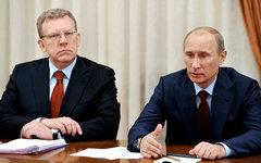 Алексей Кудрин и Владимир Путин © РИА Новости, Алексей Никольский
