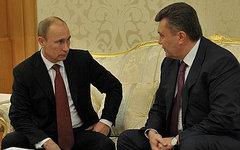Владимир Путин и Виктор Янукович. Фото с сайта kremlin.ru