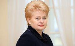 Даля Грибаускайте. Фото с сайта prezidentas.lt