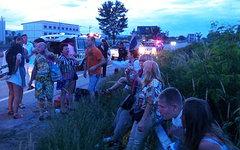Место аварии. Фото с сайта pattayamail.com