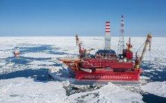 Платформа «Приразломная». Фото с сайта gazprom.ru