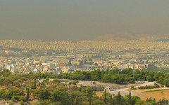 Смог в Афинах. Фото с сайта wikimedia.org