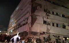 Место взрыва. Фото пользователя Twitter @iDhooom