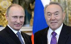 Владимир Путин и Нурсултан Назарбаев. Фото с сайта kremlin.ru