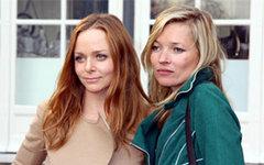 Стелла МакКартни (слева) и Кейт Мосс. Фото пользователя Flickr UK in France