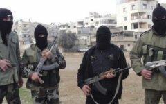 Сирийские боевики. Фото пользователя Twitter @khalidkhan787