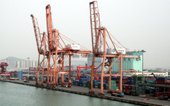 Порт Инчхон. Фото пользователя Flickr Justin Daoust