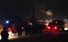 Место катастрофы. Фото пресс-службы ГУ МЧС по Иркутской области