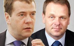 Дмитрий Медведев иЯн Вапаавуори. Коллаж © KM.RU