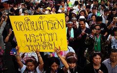 Демонстрация в Бангкоке. Фото пользователя Instagram jackkurtz
