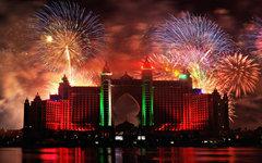 Феерверк в Дубае. Фото с сайта wallpapersinhq.com