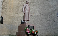 Памятник Сталину в Телави. Фото из группы Сталинского союза коммунистов «ВКонтак