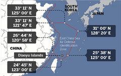 Зона ПВО Китая. Изображение с сайта eng.mod.gov.cn