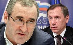 Сергей Неверов и Игорь Руденский. Коллаж © KM.RU