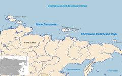 Море Лаптевых. Изображение с сайта wikimedia.org