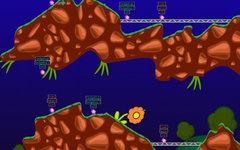 Скриншот из игры Hedgewars