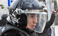 Казахстанский полицейский © РИА Новости, Анатолий Устиненко