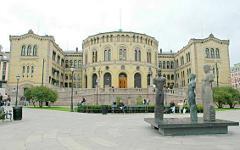 Здание парламента Норвегии. Фото с сайта thephunion.com
