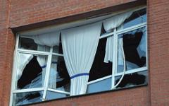 Выбитые стекла © РИА Новости