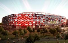 Проект стадиона. Изображение с сайта spartak.com