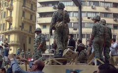 Волнения в Каире. Фото с сайта wikipedia.org