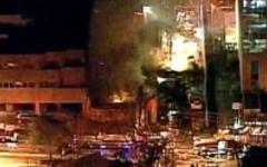 Пожар в Канзас-Сити. Кадр телеканала KHSB-TV