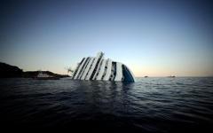 Крушение Costa Concordia. Фото с сайта identi.ca
