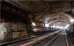 Тоннель московского метро. Фото из LiveJournal пользователя Russos