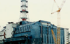 Четвертый энергоблок ЧАЭС. Фото с сайта wikipedia.org