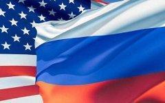 Флаги США и России. Коллаж с сайта ajcrussian.org