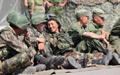 Киргизские военные © РИА Новости, Владислав Белогруд