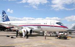 Sukhoi Superjet-100. Фото с сайта wikimedia.org