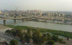 Река Тигр в центре Багдада. Фото с сайта wikipedia.org