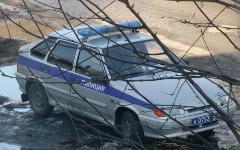 Полицейская машина © РИА Новости, Анна Скудаева