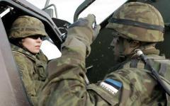 Эстонская армия. Фото с сайта mod.gov.lv