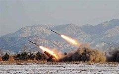 Запуск ракет в КНДР. Фото с сайта hvylya.org