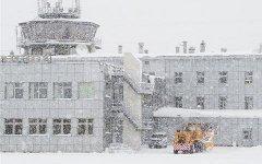 Аэропорт во время циклона. Фото с сайта airportus.ru