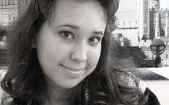Анна Высоцкая. Фото с ее страницы в «ВКонтакте»