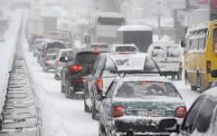 Снегопад © РИА Новости, Алексей Фурман
